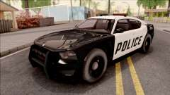 Dodge Charger Police Cruiser Lowest Poly für GTA San Andreas