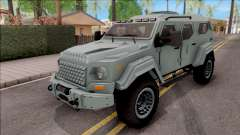 Terradyne Gurkha LAPV für GTA San Andreas