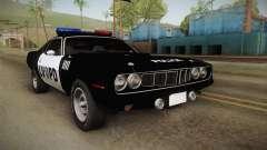 Plymouth Hemi Cuda 426 Police LVPD 1971