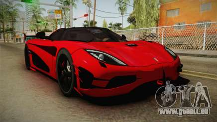 Koenigsegg Agera RS v2 pour GTA San Andreas