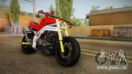 Honda CBR 1100CC Street Fighter Cipher für GTA San Andreas
