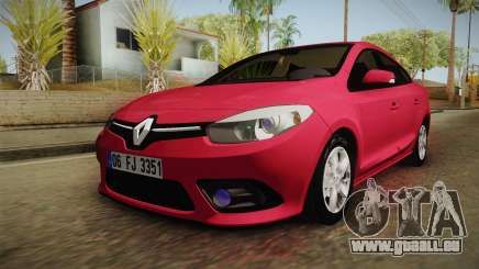 Renault Fluence Touch pour GTA San Andreas