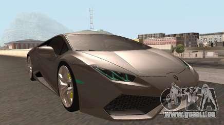 Lamborghini Huracan LP 610-4 SA Plates für GTA San Andreas