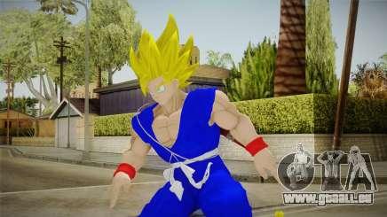 Goku Original DB Gi Blue v4 pour GTA San Andreas