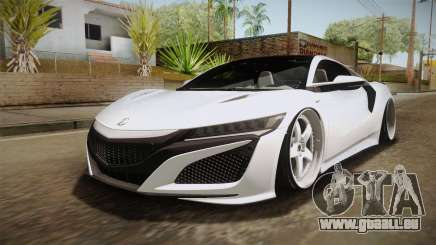 Acura NSX Stance 2017 pour GTA San Andreas