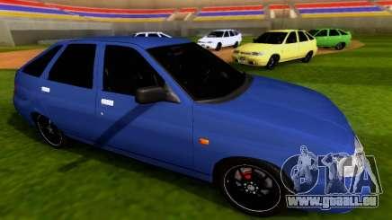 VAZ 2112 SA Plates pour GTA San Andreas