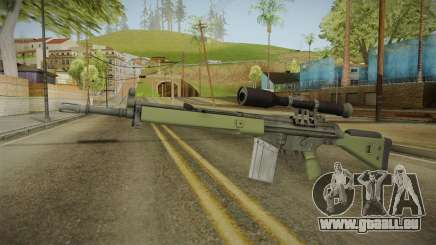 CS-GO - SG1 Sniper Rifle für GTA San Andreas
