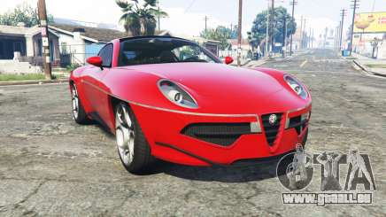 Alfa Romeo Disco Volante 2013 [add-on] pour GTA 5