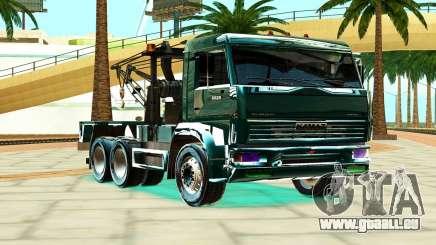 KamAZ 6520 V8 TURBO de camion de Remorquage pour GTA San Andreas