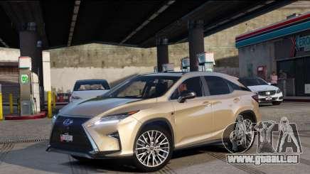 Lexus RX450H F-Sport Final pour GTA 5
