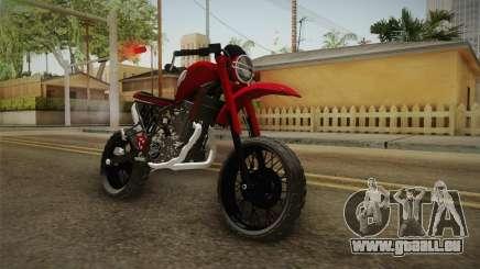 Yamaha XT660 Scrambler für GTA San Andreas