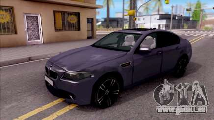 BMW M5 HQ Lowest Poly pour GTA San Andreas