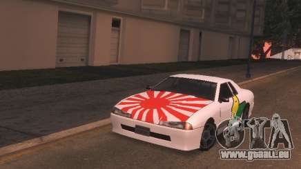 New Elegy PaintJob JDM pour GTA San Andreas