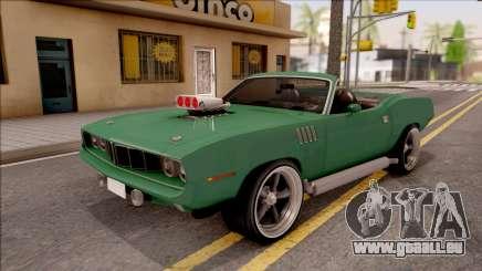 Plymouth Hemi Cuda 426 Cabrio 1971 für GTA San Andreas