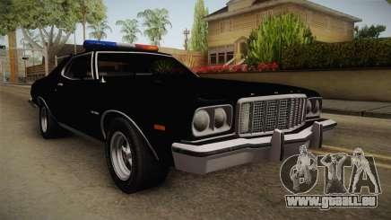Ford Gran Torino Police LVPD 1975 für GTA San Andreas