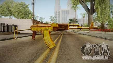 SFPH Playpark - Gold AK47 für GTA San Andreas