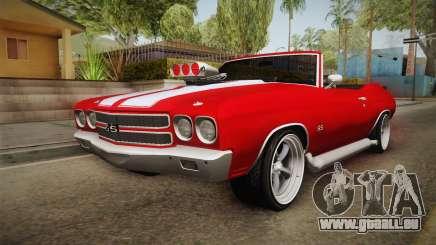 Chevrolet Chevelle SS Cabrio 1970 für GTA San Andreas