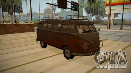 Volkswagen Samba BUS 1959 pour GTA San Andreas