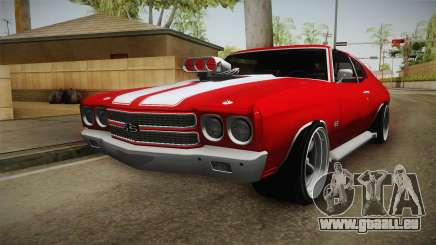 Chevrolet Chevelle SS 1970 vv1 pour GTA San Andreas