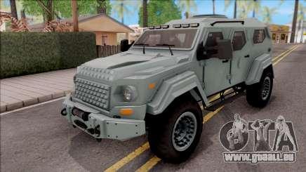 Terradyne Gurkha LAPV pour GTA San Andreas