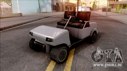 Roofless Civilian Caddy pour GTA San Andreas