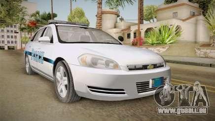 Chevrolet Impala 2011 Police pour GTA San Andreas