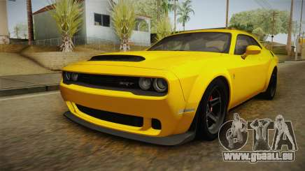 Dodge Challenger 2017 Demon für GTA San Andreas