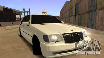 Mercedes-Benz S63 Brabus pour GTA San Andreas