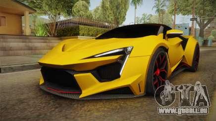 Asphalt 8 - Fenyr SuperSport W Motors pour GTA San Andreas