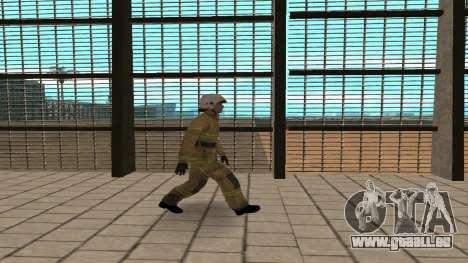 Der Offizier des Ministeriums V. 2 für GTA San Andreas dritten Screenshot
