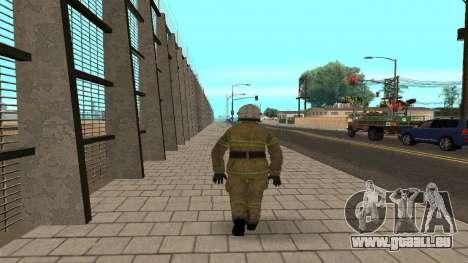 Der Offizier des Ministeriums V. 2 für GTA San Andreas zweiten Screenshot