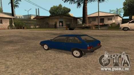 VAZ-2108 sur la radio pour GTA San Andreas laissé vue