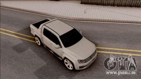 Volkswagen Amarok 4Motion 2017 pour GTA San Andreas vue de droite
