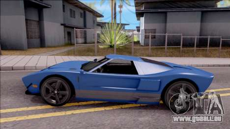 Vapid Bullet pour GTA San Andreas laissé vue