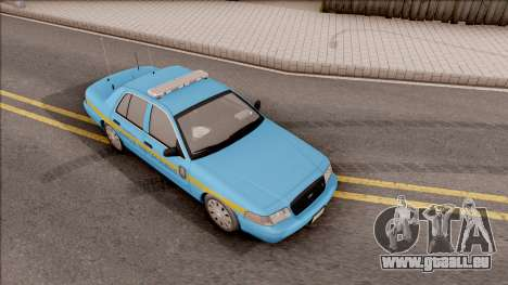 Ford Crown Victoria 2010 Iowa DOT MVE pour GTA San Andreas vue de droite