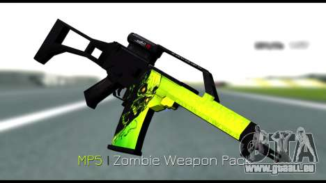 Zombie Weapon Pack für GTA San Andreas dritten Screenshot