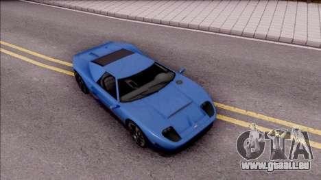 Vapid Bullet pour GTA San Andreas vue de droite
