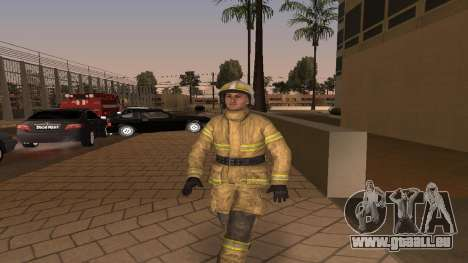 Der Offizier des Ministeriums V. 2 für GTA San Andreas
