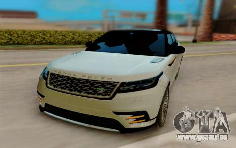 Range Rover Velar 2017 pour GTA San Andreas vue de droite
