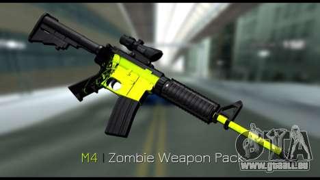 Zombie Weapon Pack für GTA San Andreas zweiten Screenshot