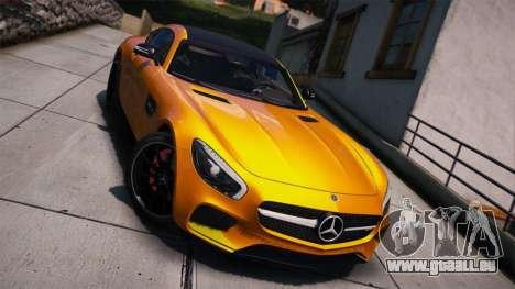 Mercedes-Benz AMG GT S 2016 pour GTA 5