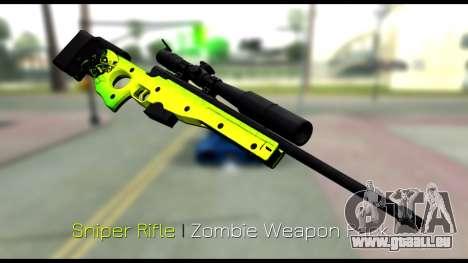 Zombie Weapon Pack für GTA San Andreas sechsten Screenshot