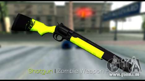 Zombie Weapon Pack für GTA San Andreas fünften Screenshot