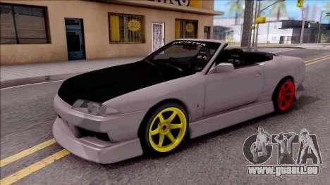 Nissan Skyline R32 Cabrio Drift Monster Energy für GTA San Andreas