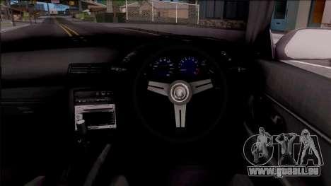 Nissan Skyline R32 Cabrio Drift Monster Energy für GTA San Andreas Innenansicht