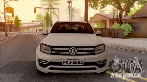 Volkswagen Amarok 4Motion 2017 pour GTA San Andreas vue intérieure
