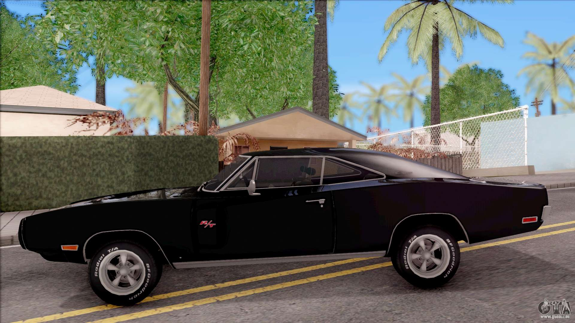 dodge charger rt 1970 pour gta san andreas. Black Bedroom Furniture Sets. Home Design Ideas