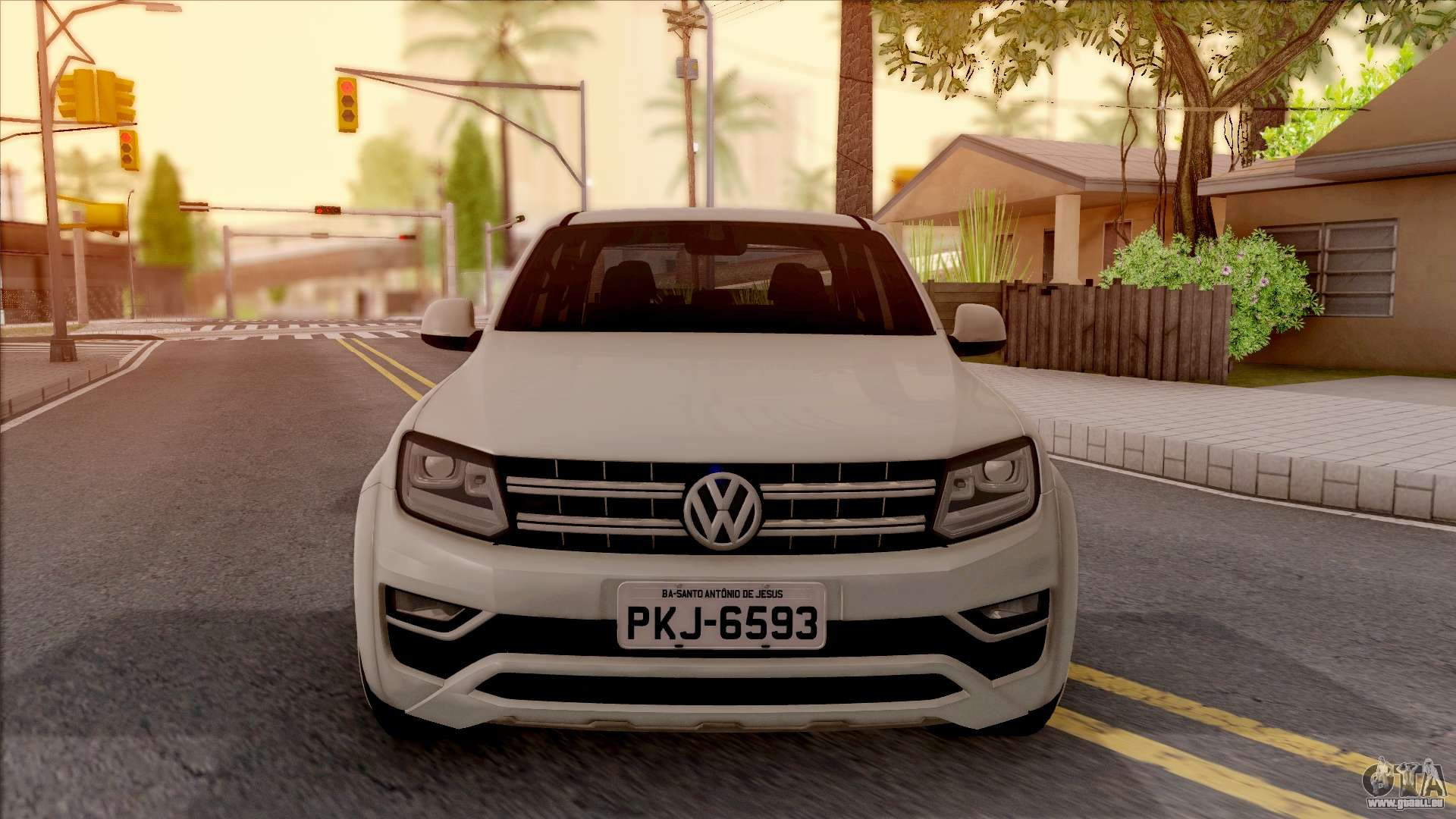 volkswagen amarok 4motion 2017 pour gta san andreas. Black Bedroom Furniture Sets. Home Design Ideas