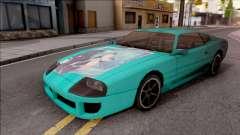 Miku Hatsune Jester Car für GTA San Andreas