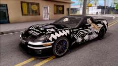 Chevrolet Corvette ZR1 Itasha JD Fate Apocrypha